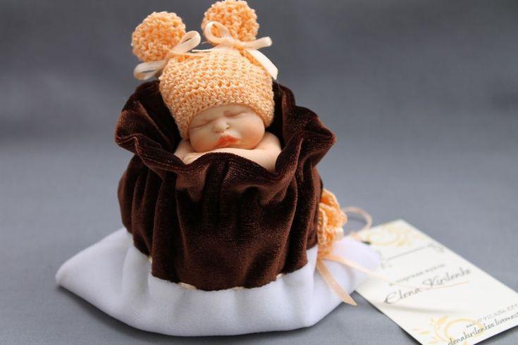 Купить Маруся - миниатюра, младенцы, единственный экземпляр, сувениры и подарки, подарок на Пасху, синий, шерсть