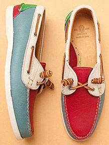 Motley Boat Shoe