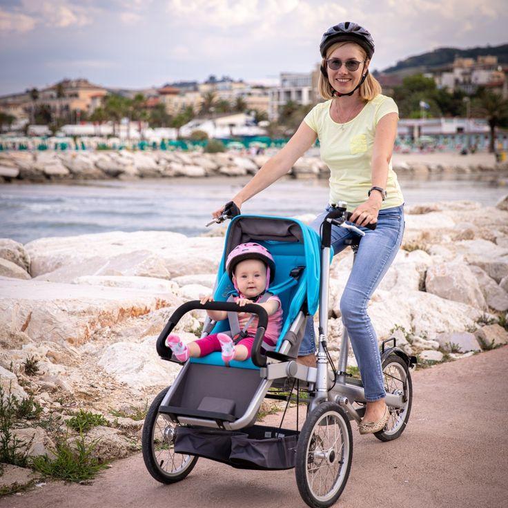Taga Bike stroller la bici più sicura per trasportare i