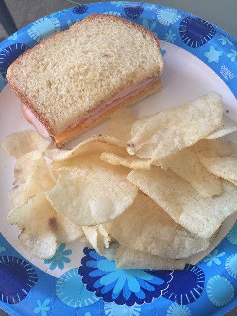 私の1番のお気に入りのポテトチップスは    この酸っぱくて美味しSalt & vinegar ❣️    1つだけアメリカンの味覚になったところは    サンドイッチの時に必ずチップスが欲しいこと!    サンドイッチとポテトチップスやチートスやタコスなどしょっぱくてちょっと油っぽい味がすごく合うんですよ!