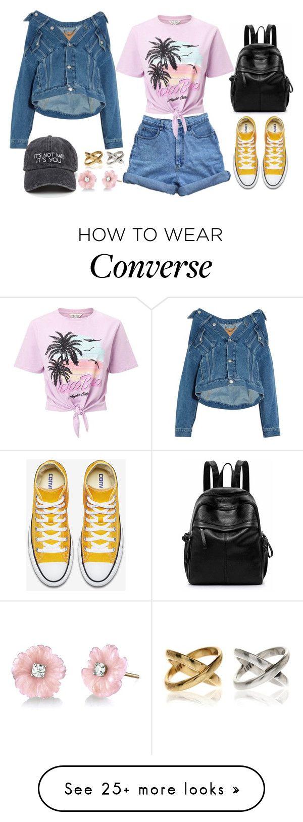 """Dress Up a T-Shirt"" by joslynaurora on Polyvore featuring Miss Selfridge, Balenciaga, Irene Neuwirth and MyFaveTshirt"