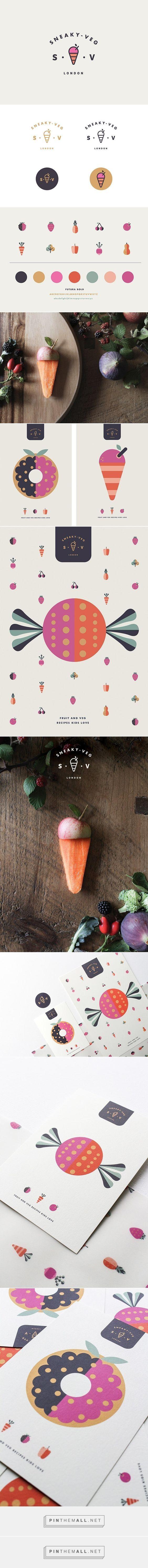 Sneaky Veg Branding by Vicki Turner | Fivestar Branding – Design and Branding Agency & Inspiration Gallery