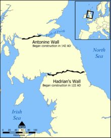 Hadrian's Wall (Latin: Vallum Aelium), also called the Roman Wall, Picts' Wall, or Vallum Hadriani, was a defensive fortification in the Roman province of Britannia, begun in AD 122 during the rule of emperor Hadrian. ハドリアヌスの長城(ハドリアヌスのちょうじょう、英: Hadrian's Wall)は、イギリスの北部にあるローマ帝国時代の城壁跡。 1987年にユネスコの世界遺産(文化遺産)に登録された。