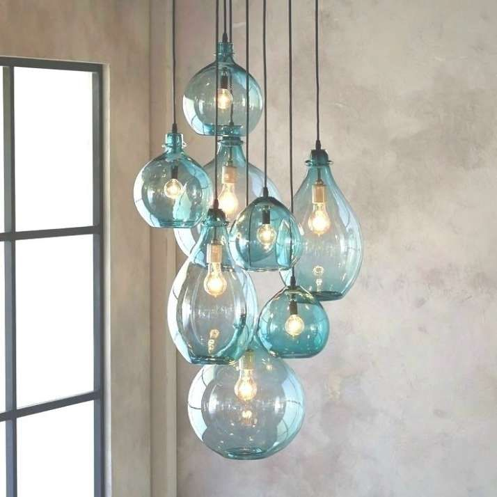 Sea Glass Chandelier Chandelier Designs Blown Glass Chandelier Blown Glass Pendant Light Sea Glass Chandelier