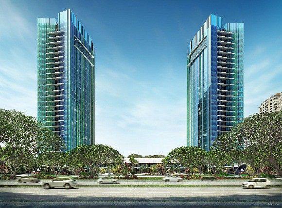 Salah satu proyek gedung kantor milik PT Ciputra Residences yakni Citra Towers yang berlokasi di Kemayoran, Jakarta pusat.    #gedungkantor #property