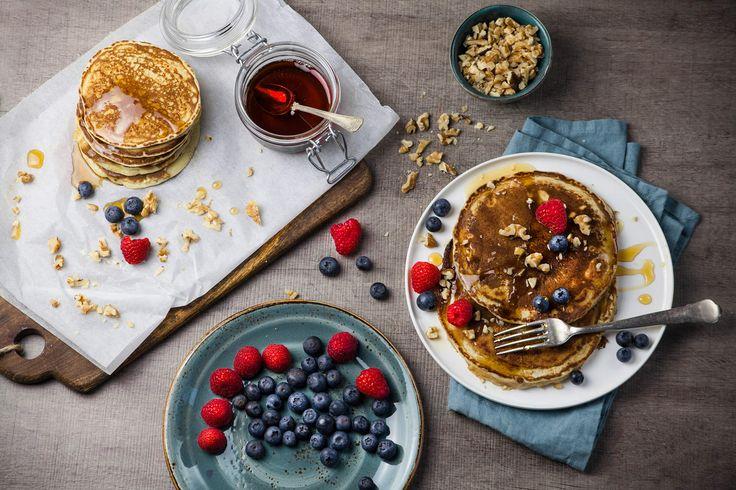 Vegan American Pancakes from Santa Maria