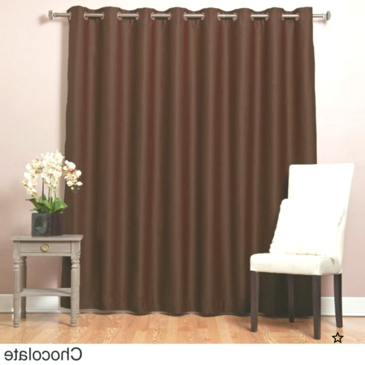 Aurora Home 96 Inch Wide Width Thermal Blackout Curtain Panel