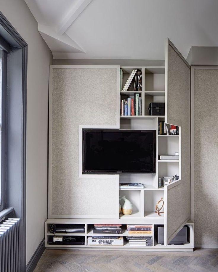 Ideia bacana para o móvel da tv. #decor Pinterest: http://ift.tt/1Yn40ab http://ift.tt/1oztIs0 |Imagem não autoral|