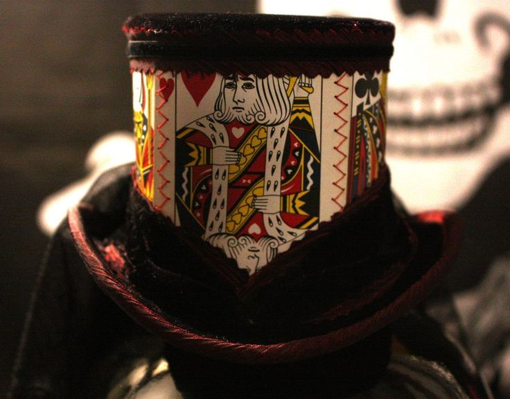 King of Hearts Top Hat by Opergeist.deviantart.com on @deviantART