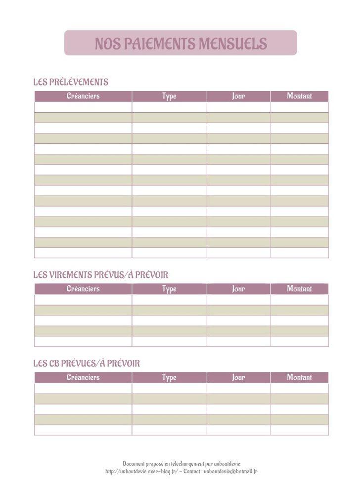 Nos prélèvements mensuels. par Flavie - 1boutdevie.over-blog.fr - Nos prélèvements mensuels.pdf - Fichier PDF