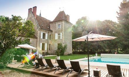 Bourgogne : 1 à 3 nuits avec petit déjeuner, 1 dîner en 5 services en option, au Château-Hôtel Le Sallay 4* pour 2 pers.