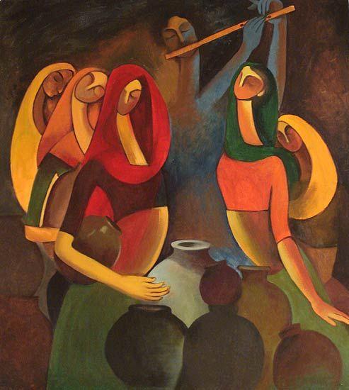 Shilpa Jadhav Painting - SuchitrraArts.com