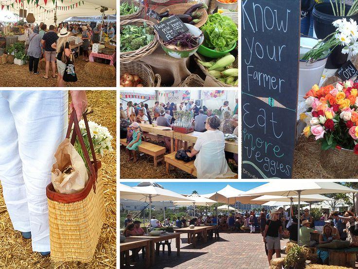 Markets in Cape Town - Oranjezicht City Farm Market Day - Photos by Rachel Robinson