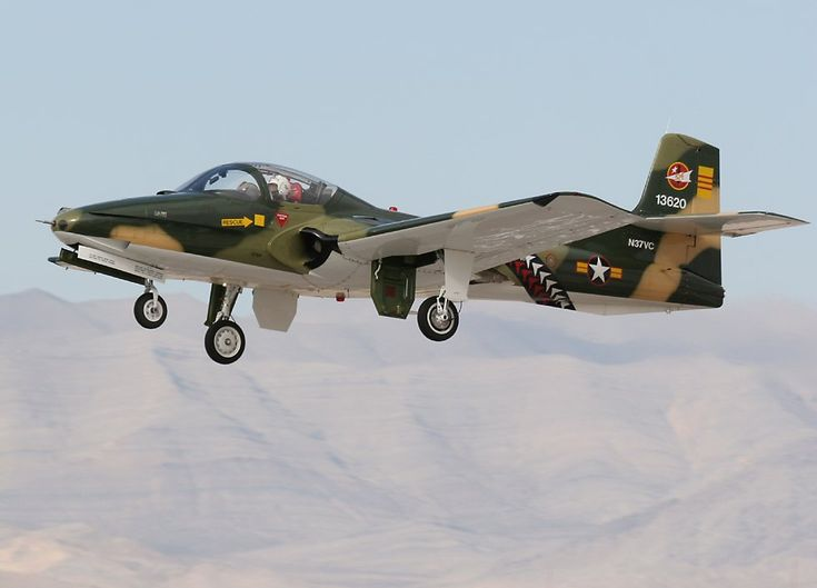 South Vietnamese AF A-37 Dragonfly