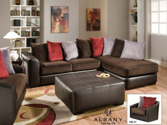 Shop For Albany Industries 2 Piece Sectional, And Other Living Room  Sectionals At Furniture Plus In Wausau, Stevens Point And Wisconsin Rapids,  Wisconsin.
