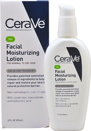 Facial moisturizer lotion — 12
