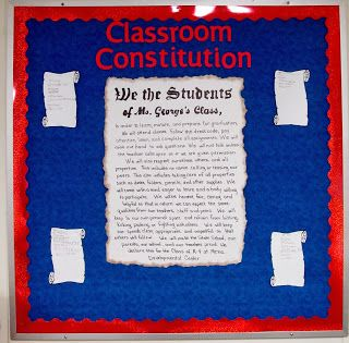 Education-Unplugged: Classroom Constitution - Rules