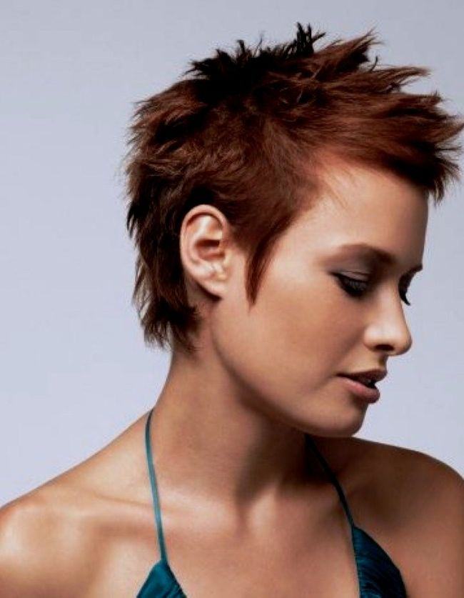 Spikey Short Hair Styles Hairstyle Center Pick See Cut