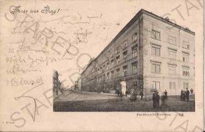 Praha, Karlín, Ferdinandovy kasárny