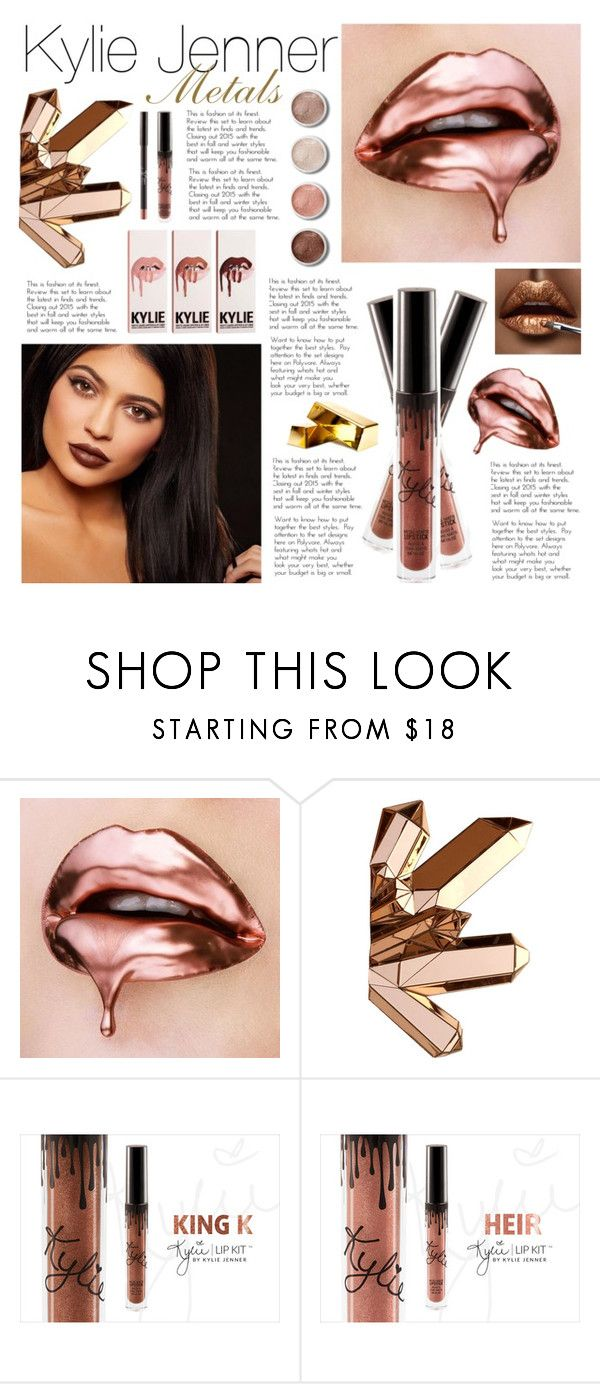 """""""Kylie Jenner Metals"""" by artilistic ❤ liked on Polyvore featuring beauty and Terre Mère"""