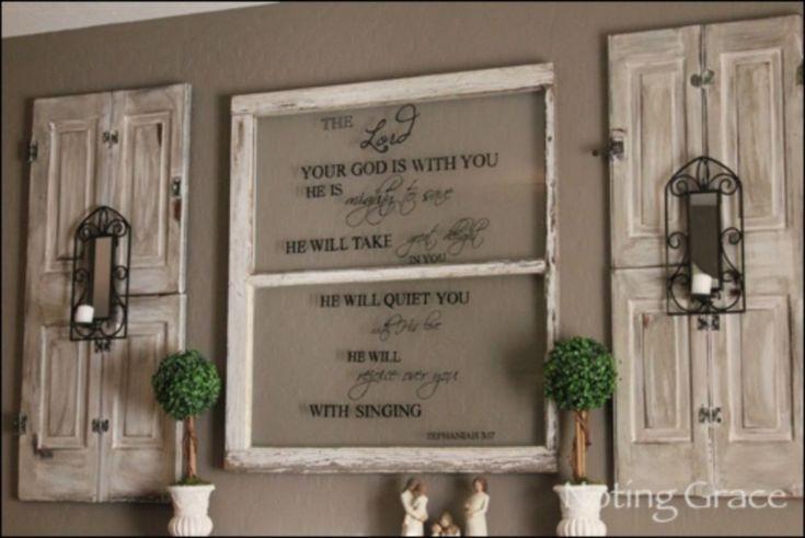 awesome 58 Best DIY Window Pane Wall Decor Ideas