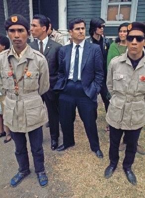 When New Mexico Chicano Activist Reies Tijerina came to Oakland to support Huey Newton along with the Oakland Chapter of the Brown Berets at Defremery (Bobby Hutton) Park in 1968. Chicano's and Black Panthers working together.
