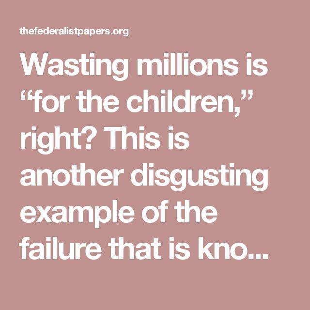"""Wasting millions is """"for the children,"""" right? This is another disgusting example of the failure that is known as government education.  A Howard County Superintendent announced her sudden """"retirement,"""" and as a result will be paid almost $1.6 million for doing absolutely nothing.  Story. Apparently Dr. Renee Foose had sued the Board of Education for supposedly preventing her from doing her job. It seems the school board paid off Foose to drop the lawsuit if she retired, and they literally…"""