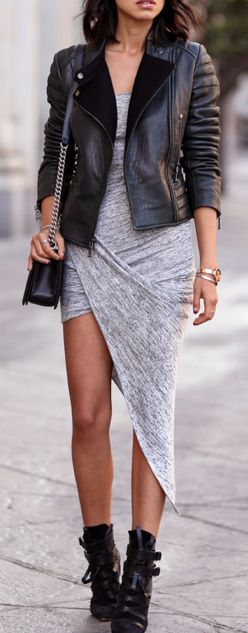This asymmetrical dress is THE cutest thing! I want one so bad