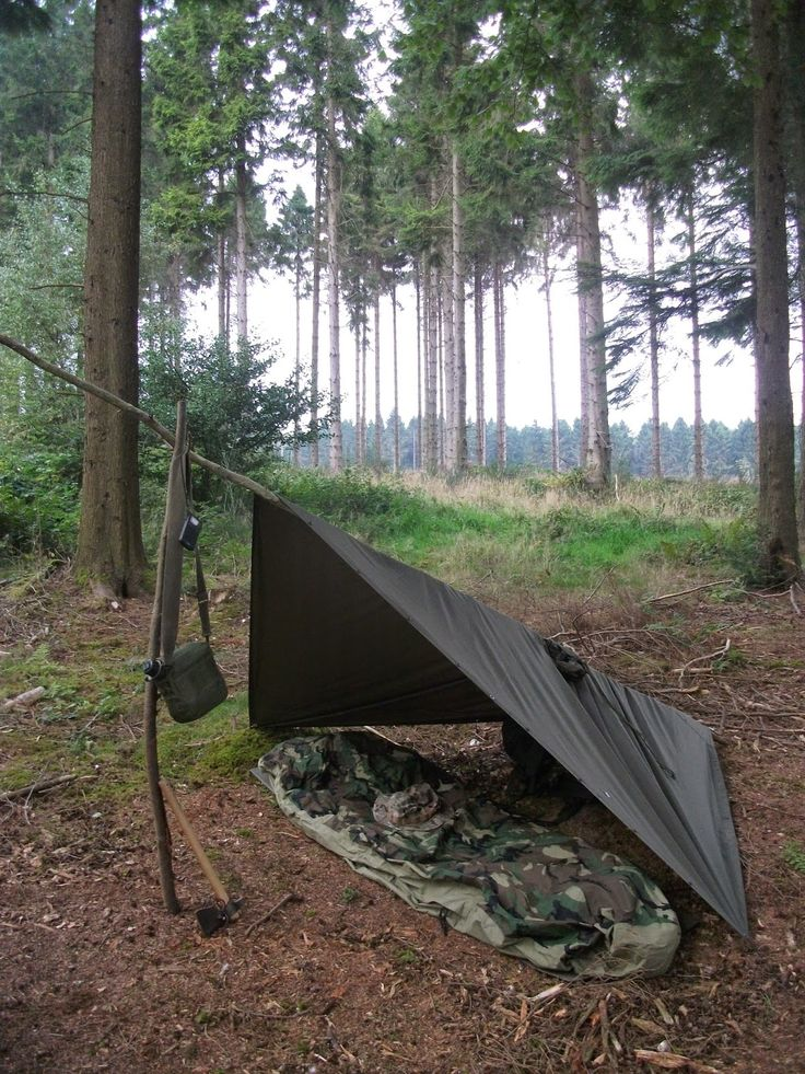 Wilderness Living - : Stealth Camping part 2 .............. How (not to be seen)