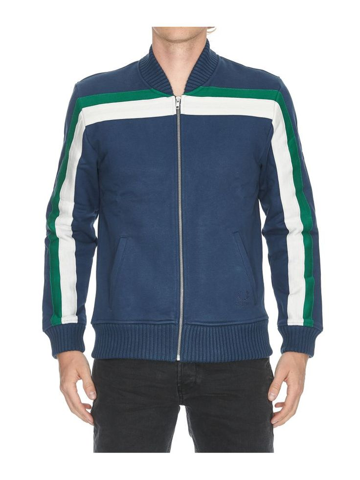 Best price on the market at italist.com Fred Perry by Raf Simons  Dark blue green  COATS & JACKETS.