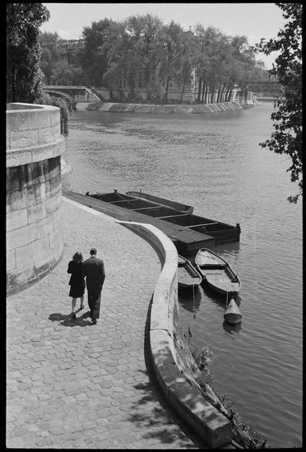 Quai de l'Hôtel de ville, Paris  René-Jacques (dit), Giton René (1908-2003)  Charenton-le-Pont, Médiathèque de l'Architecture et du Patrimoine