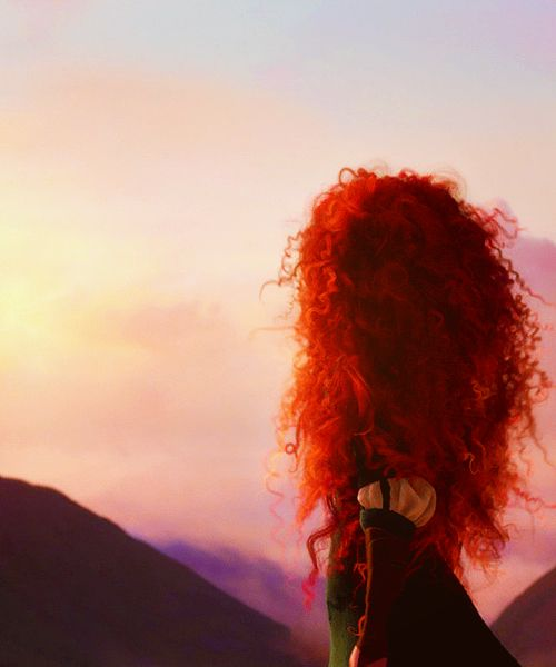 Merida's passion reminds me so much of my little girl.  I hope she finds her fate within herself.