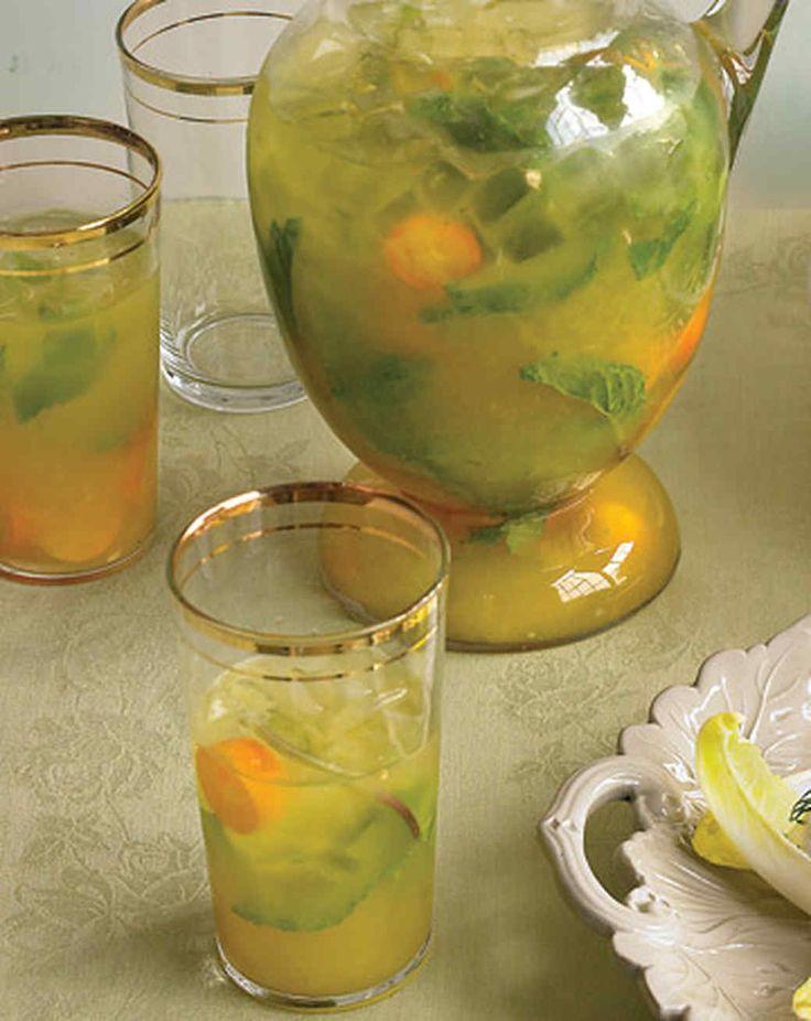 Orange juice replaces traditional soda water in this popular Latin American cocktail. Kumquats add extra citrus flavor.