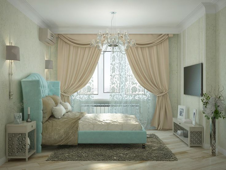 3к.кв. для большой семьи в Черемушки 2. Голубые акценты в гостиной и спальне выглядят очень нежно и прекрасно освежают интерьер. Детские комнаты сделаны с учетом предпочтений каждого из детей.