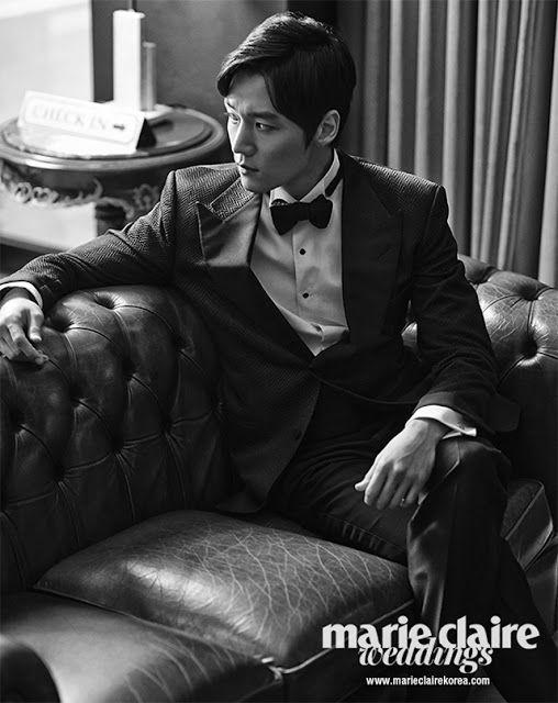 Choi Jin Hyuk for Marie Claire Korea