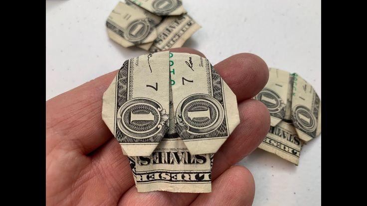 Origami Skull Dollar Instructions
