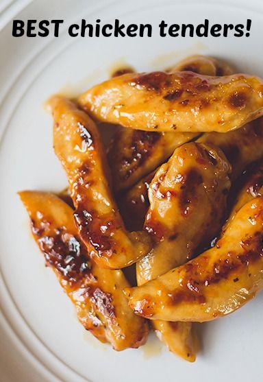 Perfect chicken tenders recipe | DearCrissy.com