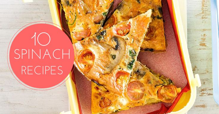 10 Spinach recipes that are perfect for the Banting Diet