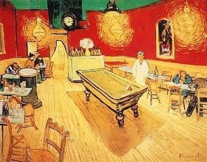 Van Gogh Canvas Oil Painting Snooker