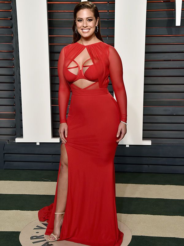 Exclusive: Ashley Graham's Stylist Spills All the Details on Her Cleavage-Baring Oscars Dress http://stylenews.peoplestylewatch.com/2016/03/01/ashley-grahams-stylist-interview/