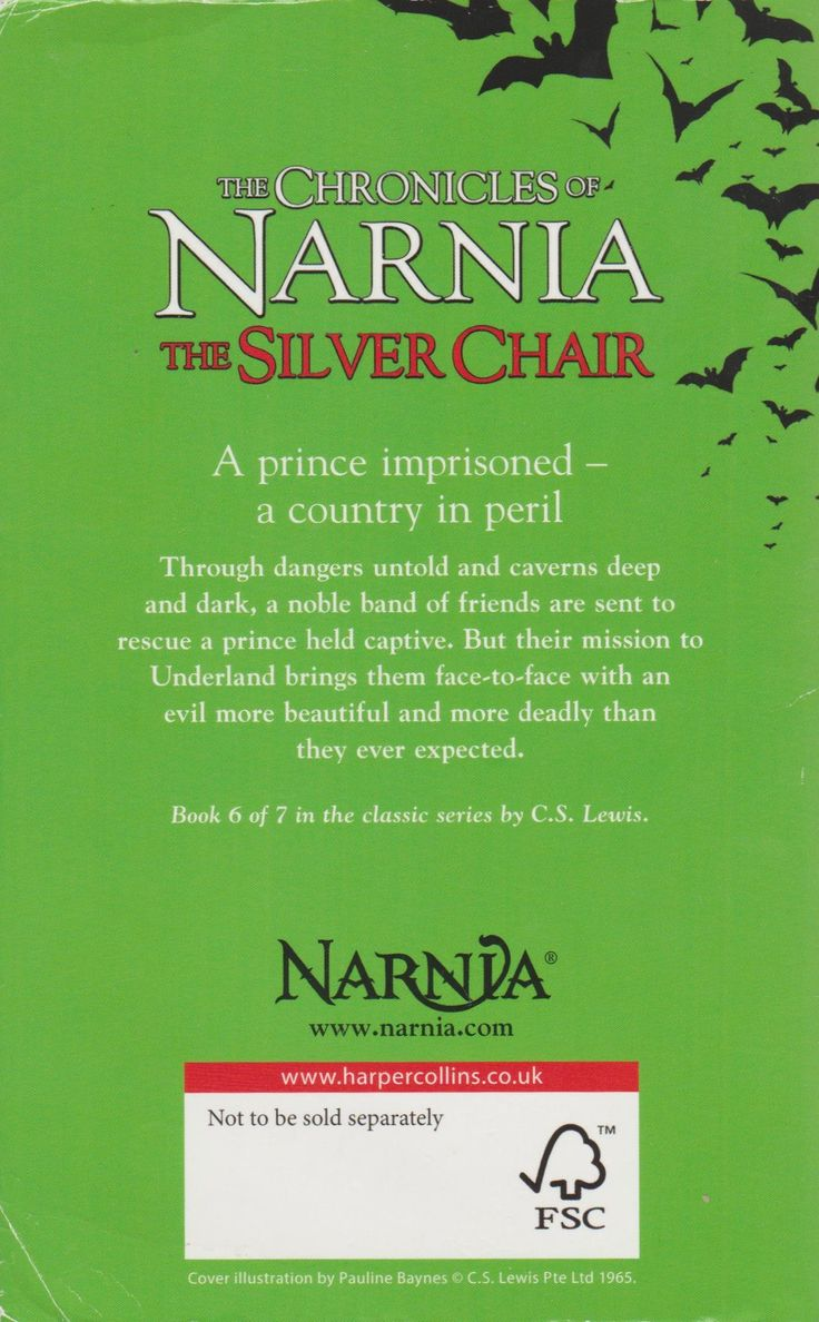 The narnia covers book 4 the silver chair - The Silver Chair The Chronicles Of Narnia 6 C S Lewis