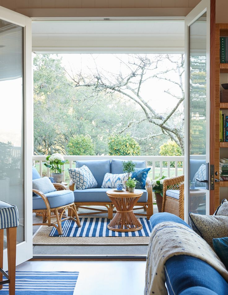 17 Best Ideas About Blue Patio On Pinterest Outdoor