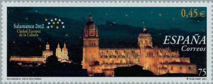 Ciudad Europea de la Cultura 2002. Salamanca - 2001