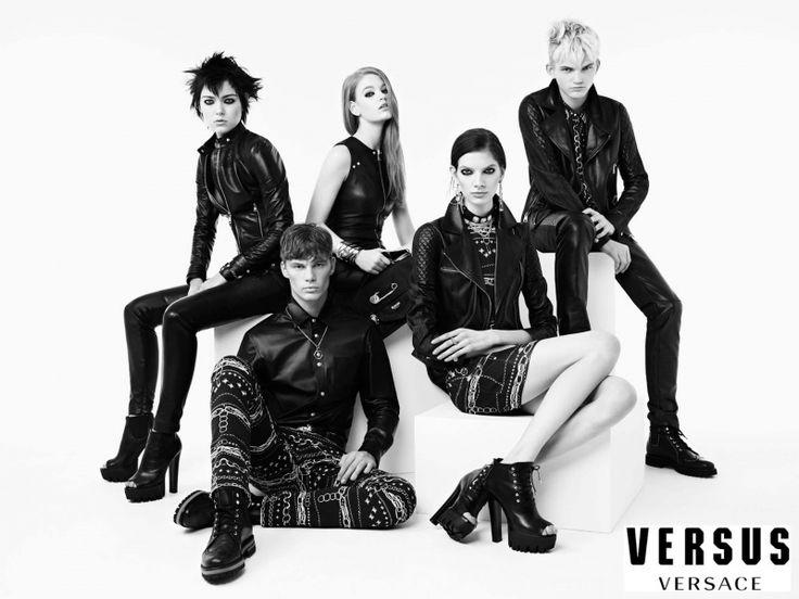 Versus Versace Campaign FW 2014-15 - Hollie May Saker, James Chapman, Kolfinna Kristofersdottir, Morris Pendlebury by Ben Toms