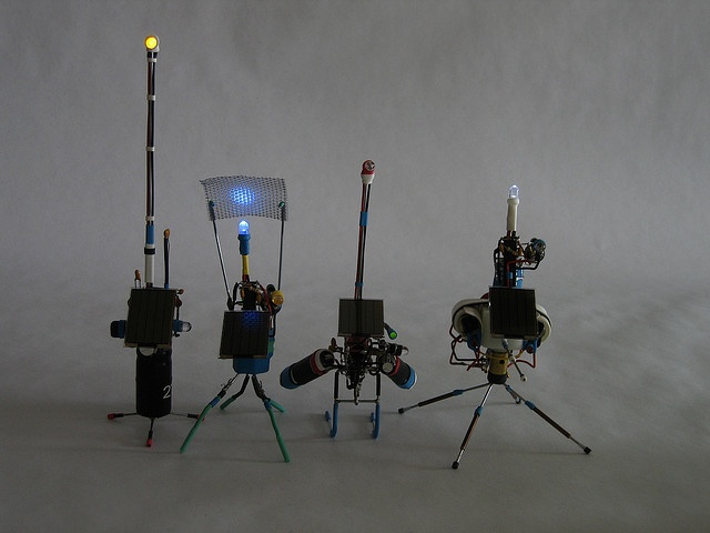 BEAM Robot Pummers are awesome!