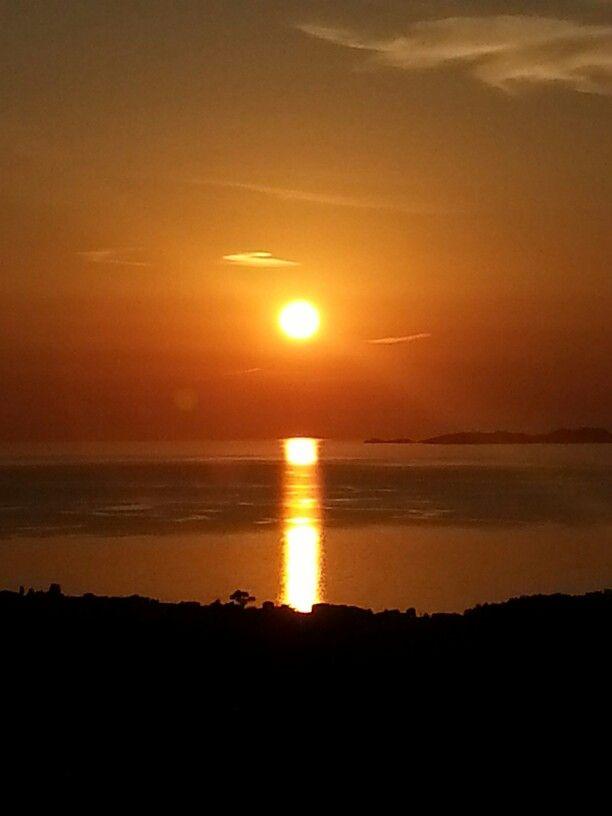 Sunset at Corfu