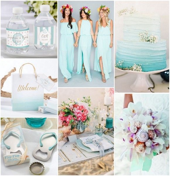 Ideas For A Fun Wedding: Fun And Festive Beach Wedding Ideas
