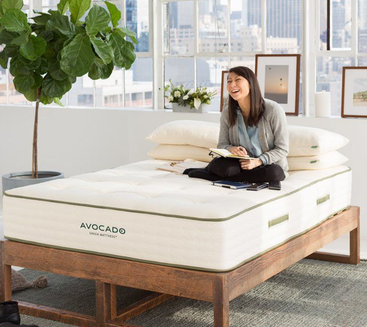 Avocado Eco Wood Bed Frame By Avocado Green Mattress Wood Bed Frame