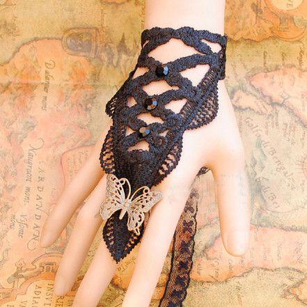 Attractive Alloy Chain Lace Retro Style Women's Bracelet