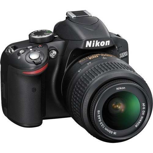 Camara Nikon D 3200, 24.2 MegaPixeles Video (Full HD) está equipada con un